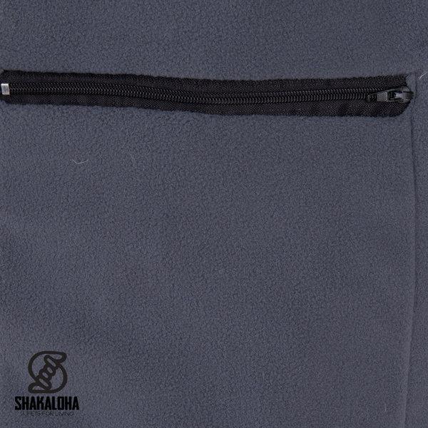 Shakaloha Shakaloha Knitted Woolen Jacket Buster ZH Beige Light Brown with Fleece Lining and Detachable Hood - Men - Unisex - Handmade in Nepal from sheep's wool