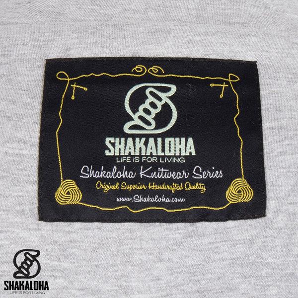 Shakaloha Shakaloha Wolljacke - Strickjacke Pine Beige Creme mit Baumwollfutter und Abnehmbarer Kapuze - Herren - Uni - Handgemacht in Nepal aus Schafwolle