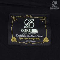 Shakaloha Shakaloha Gebreid Wollen Vest Verge Antraciet met Katoenen Voering en Hoge Kraag - Man/Uni - Handgemaakt in Nepal van Schapenwol