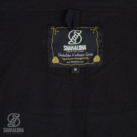 Shakaloha Shakaloha Veste en Laine Tricoté Vista ZH Anthracite avec Doublure en coton et Capuche détachable - Hommes - Uni - Fabriqué à la main au Népal en laine de mouton