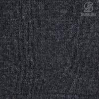 Shakaloha Shakaloha Gebreid Wollen Vest Vista ZH Antraciet met Katoenen Voering en Afneembare Capuchon - Man/Uni - Handgemaakt in Nepal van Schapenwol