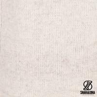 Shakaloha Shakaloha Gebreid Wollen Vest Crawford ZH Beige Crème met Katoenen Voering en Afneembare Capuchon - Dames - Handgemaakt in Nepal van Schapenwol