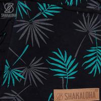 Shakaloha W Petunia BlackTurquoiseLeafes
