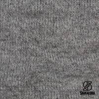 Shakaloha Shakaloha Wolljacke - Strickjacke Zinnia Grau mit Fleece-Futter und Kapuze - Damen - Handgemacht in Nepal aus Schafwolle