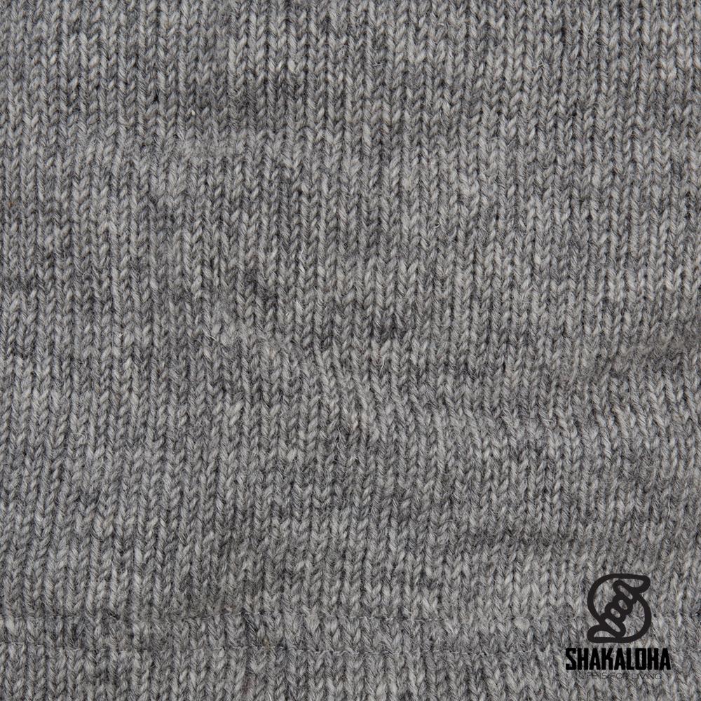 Shakaloha Shakaloha Gebreid Wollen Vest Zinnia  met Fleece Voering en Capuchon - Dames - Handgemaakt in Nepal van Schapenwol