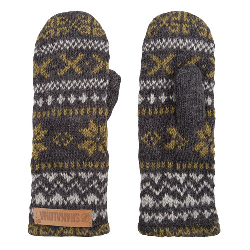 Shakaloha Klick Gloves GreyGreen