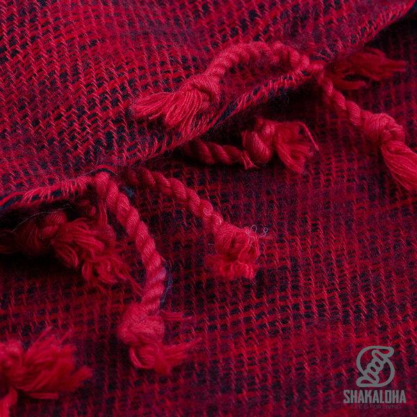 Shakaloha Kanoa Shawl Red