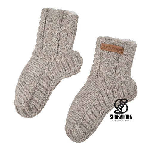Shakaloha Easy Sunday Socks Beige