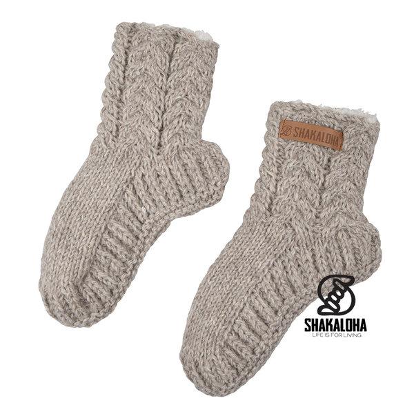 Shakaloha Easy Sunday Socks Beige