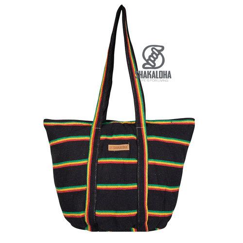Shakaloha Heach Beach Bag Rasta Farbe