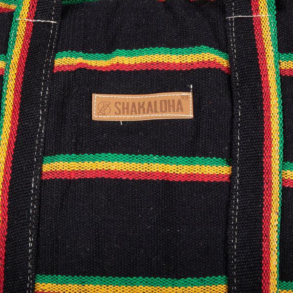 Shakaloha Strandtasche Heach Bag Rasta Color