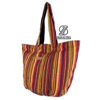Shakaloha Beach Bag Heach Bag Beach Bag Yellow Striped