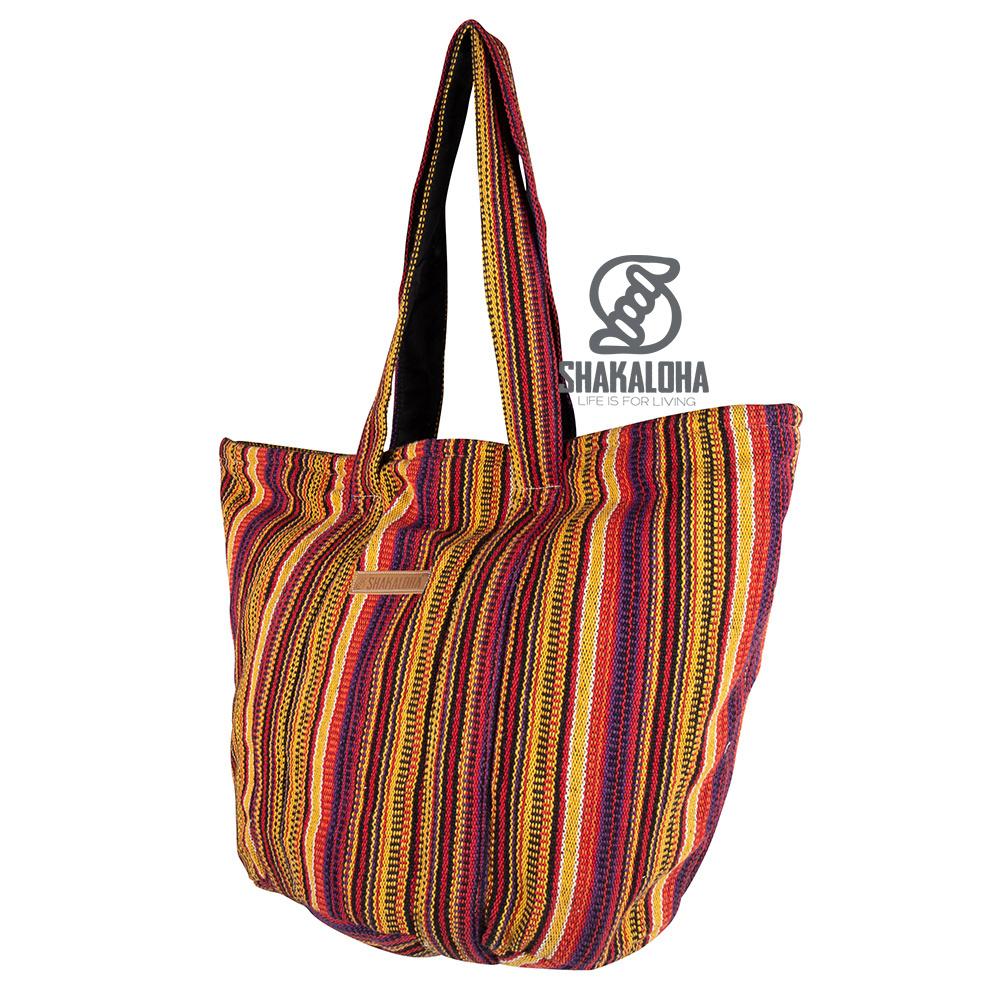 Shakaloha Sac de plage Heach Bag Beach Bag Yellow Striped