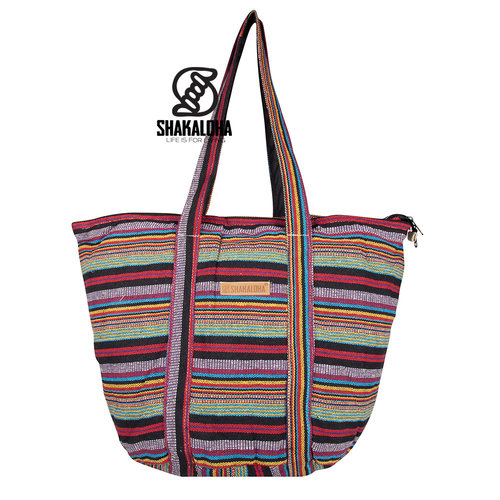 Shakaloha Strand Tas Heach Bag Multicolored