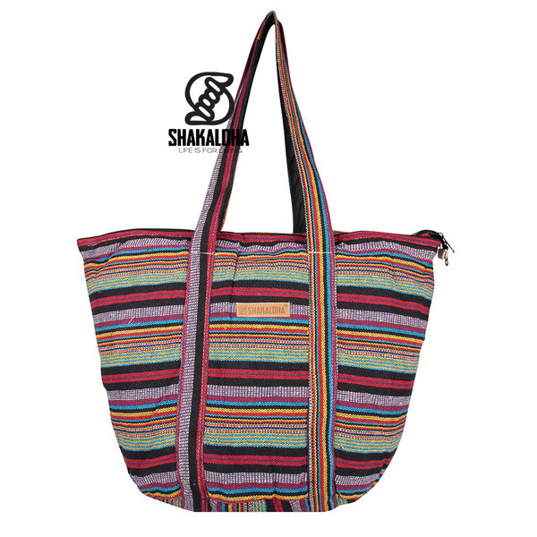 Shakaloha Pelzfarbene Strandtasche Beachian Style Heach Bag