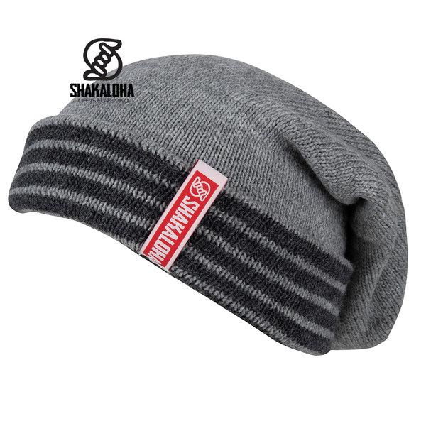Shakaloha Brut Beanie MrnRv GreyAntra