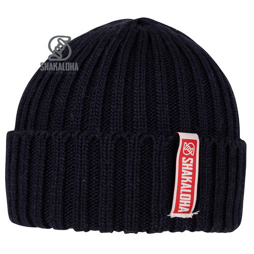 Shakaloha Bottle Beanie Mrn Navy