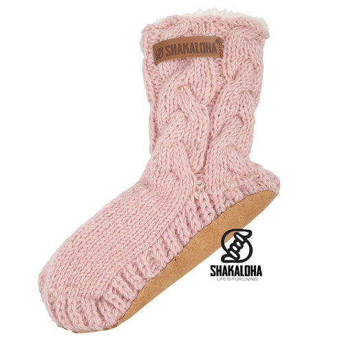 Shakaloha Soled Saturday Socks OldPink