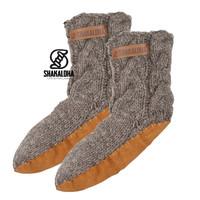 Shakaloha Sohlen Samstag Socken Grau