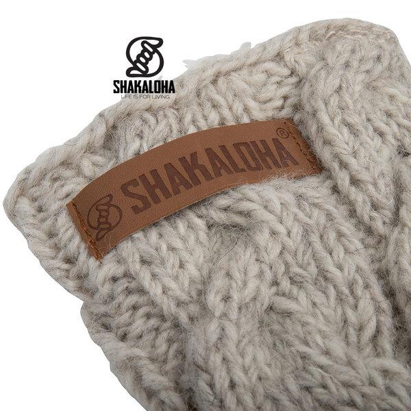 Shakaloha Soled Saturday Socks Beige