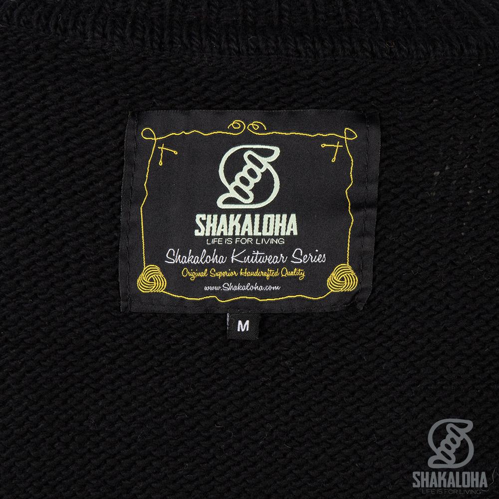 Shakaloha W Highneck Noir