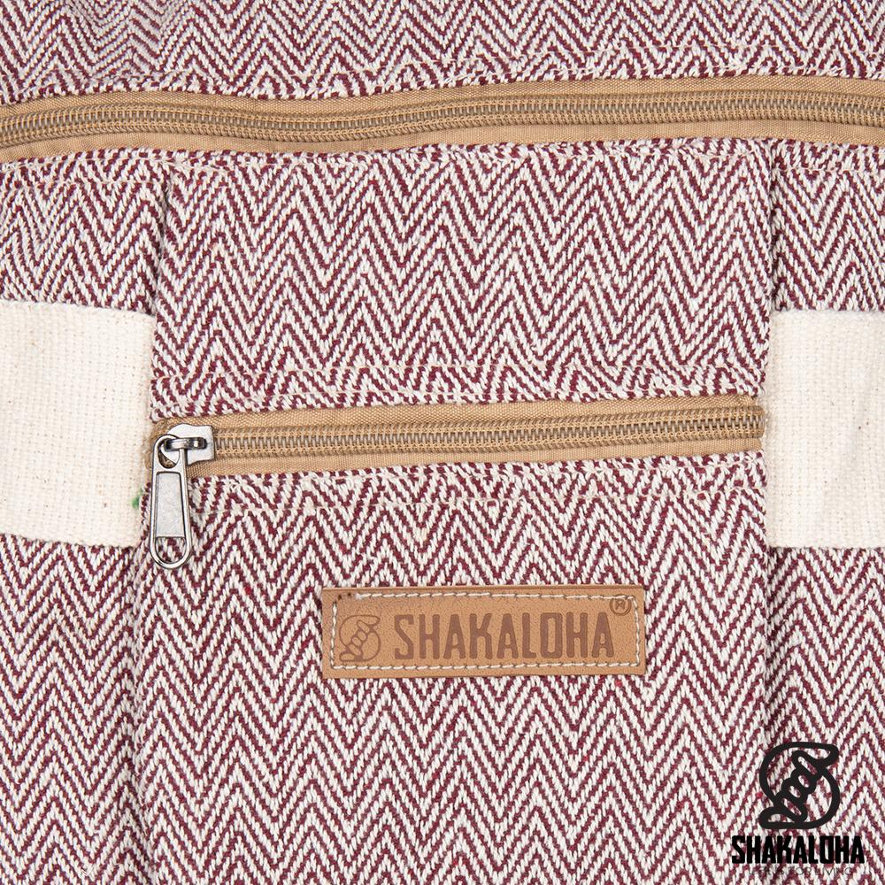 Shakaloha Folder Bag Maxi Maroon