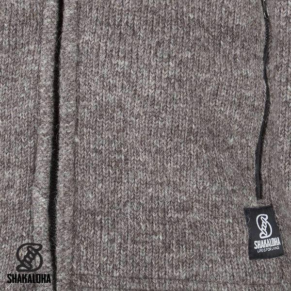Shakaloha Wool jacket Navigator Light Brown / Taupe