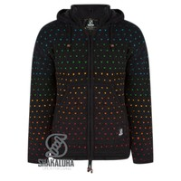 Shakaloha Disco Zwart Multicolor Schapen Wollen Vest