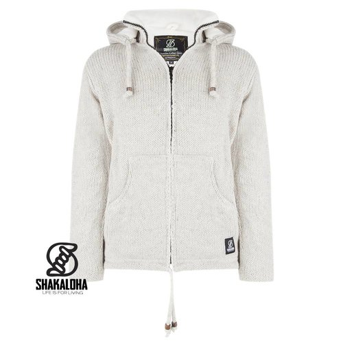 Shakaloha Flash Ziphood Jacke Beige