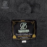 Shakaloha Shakaloha Veste en Laine Tricoté Bodhi Anthracite avec Doublure en Peluche et Capuche détachable - Hommes - Uni - Fabriqué à la main au Népal en laine de mouton