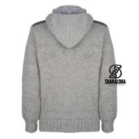 Shakaloha Bodhi Grey Sherpa Strickjacke