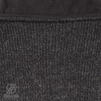 Shakaloha Shakaloha Veste en Laine Tricoté Baltic 1-Ply Anthracite avec Doublure en polaire et Capuche détachable - Femmes - Fabriqué à la main au Népal en laine de mouton