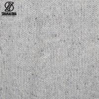 Shakaloha Shakaloha Knitted Woolen Jacket Radical Ziphood Gray with Fleece Lining and Detachable Hood - Men - Unisex - Handmade in Nepal from sheep's wool