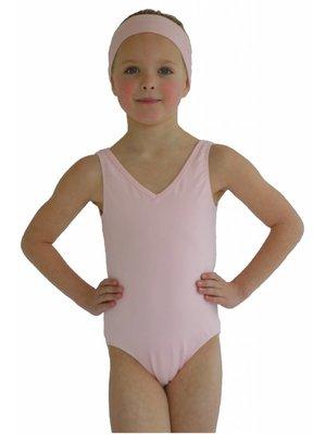 Dansgirl Kinder Balletpakje hemdmodel licht roze 134/140