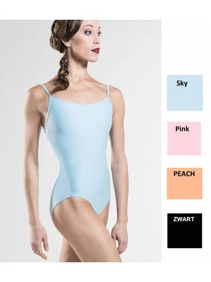 Wear Moi Zwart balletpakje spaghettibandjes Diane