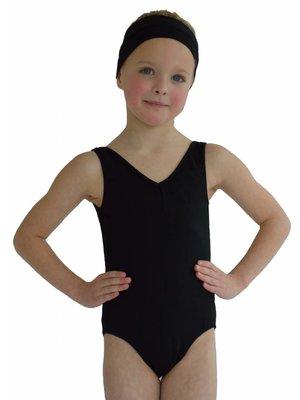 Dansgirl Kinder Balletpakje hemdmodel zwart