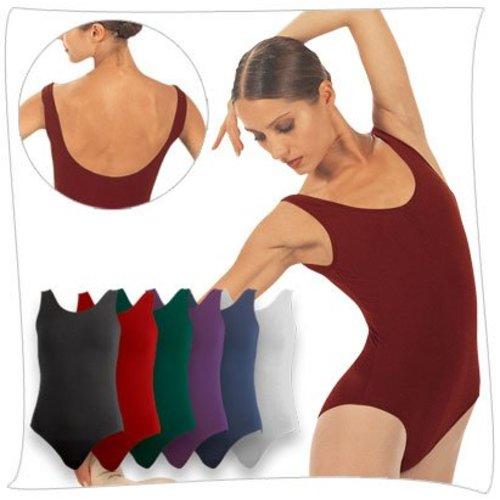 Sansha Zwart balletpakje hemdmodel Toliara