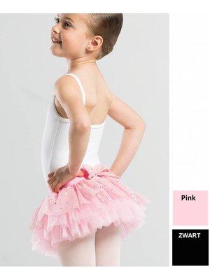Wear Moi Roze en zwarte Tutu met pailletten