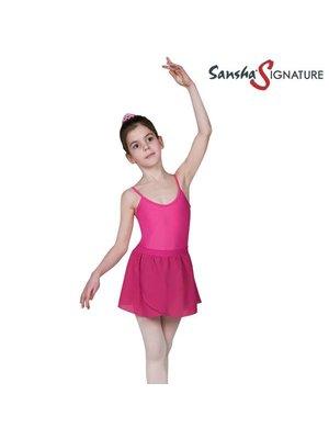 Sansha Balletrokje kinder licht roze Serenity