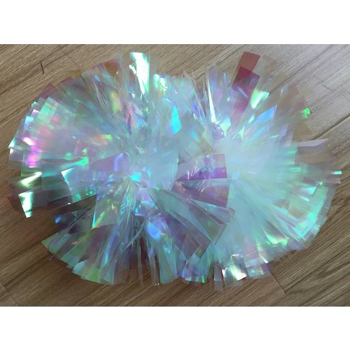 Cheerleader poms CHEERDANCE (set van 2) Metallic