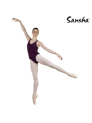 Sansha Dames balletpakje kruisbandjes Belize zwart