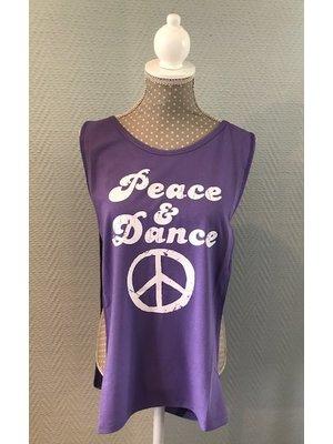 Skazz Danstop Peace en Dance Paars
