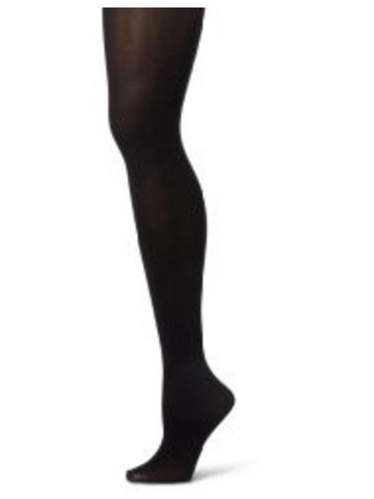 Sansha Balletpanty met voet zwart dames
