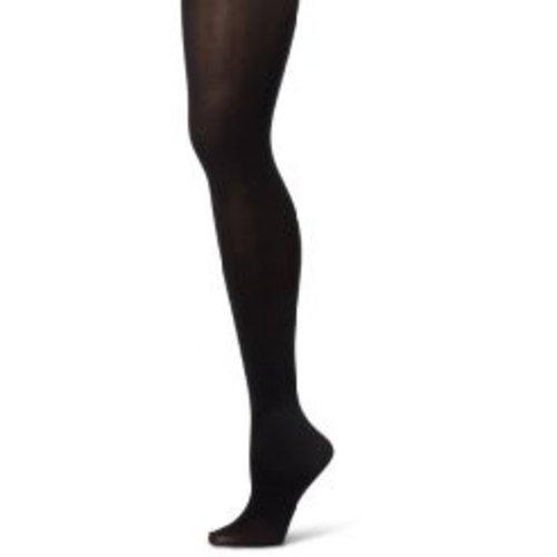 Sansha Balletpanty met voet zwart voor kinderen