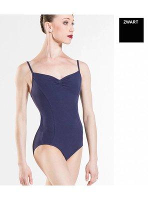 Wear Moi Zwart balletpakje met spaghettibandjes ULENA