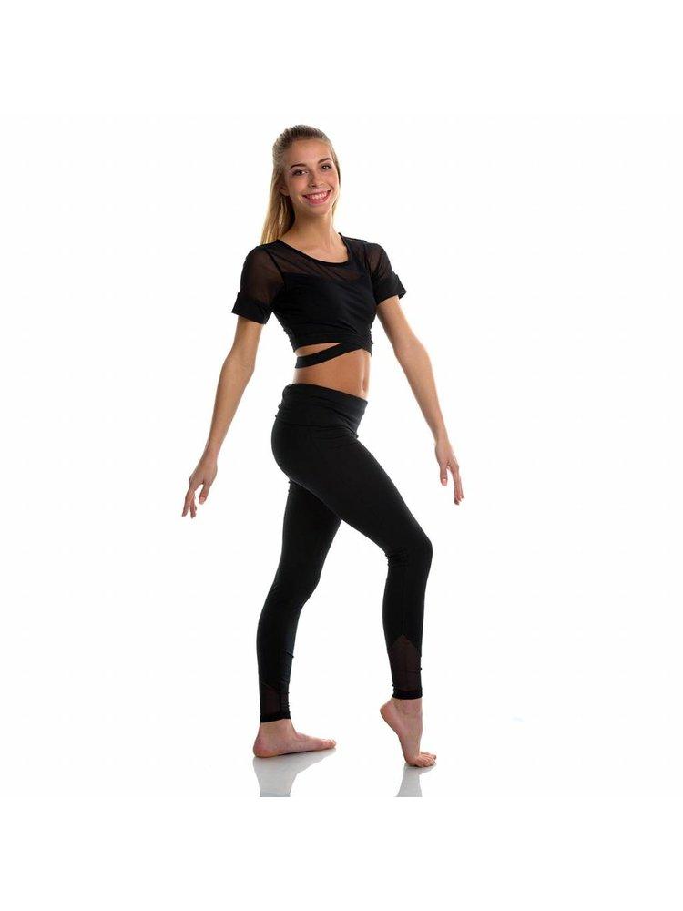 Soffe Dames dans legging Mesh