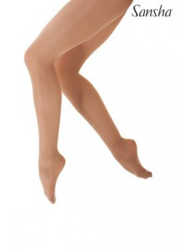 Sansha Danspanty huidskleur light tan