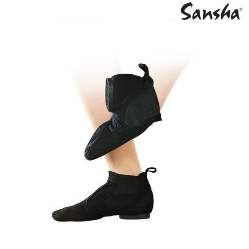 Sansha Jazz boot canvas lido jazzschoen