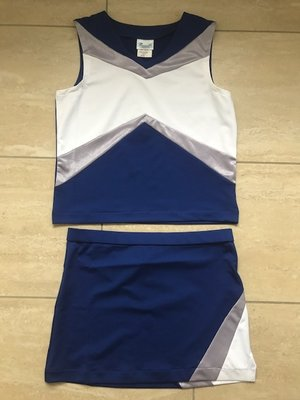 Pizzazz Cheerleading Uniform Premier Tumble