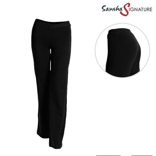 Sansha Signature Jazzbroek Jade zwart